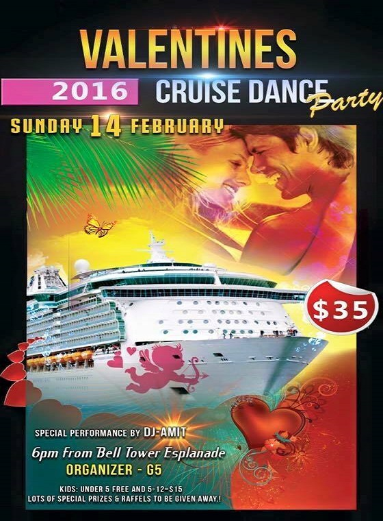 VALENTINES CRUISE DANCE PARTY