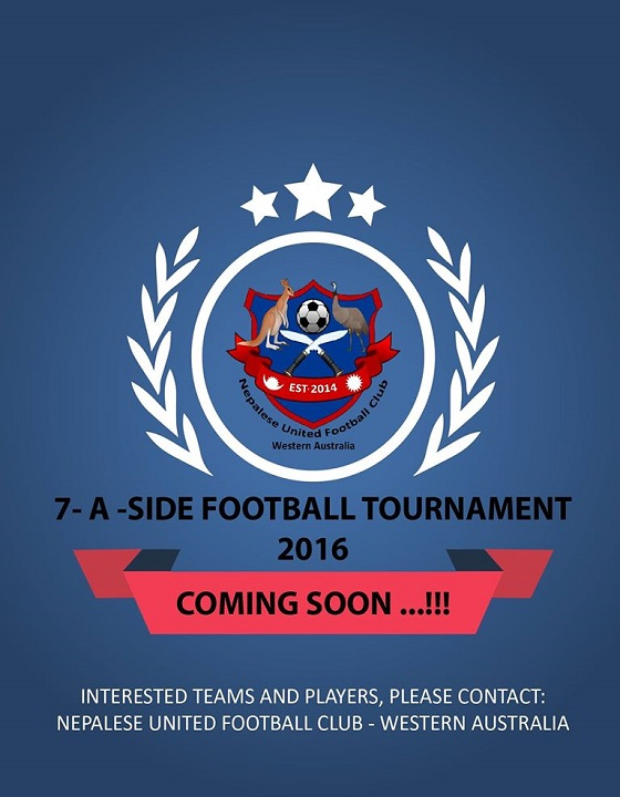 7 – A – SIDE FOOTBALL TOURNAMENT 2016