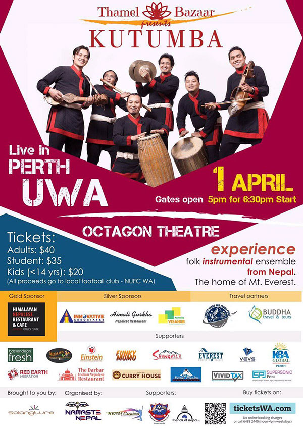 Kutumba Live-in-Perth